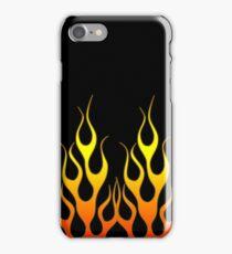 Black Flames iPhone Case/Skin