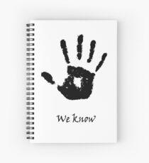 We Know Spiral Notebook