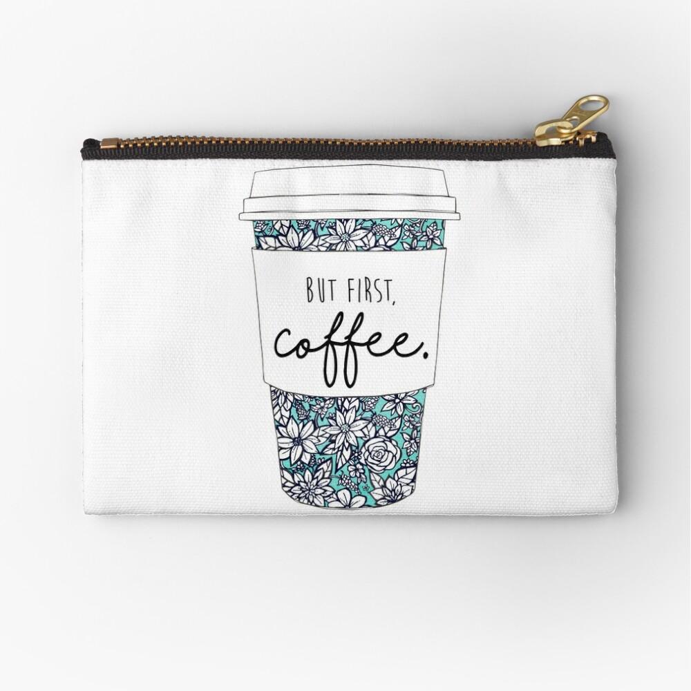 Blumenkaffee Täschchen
