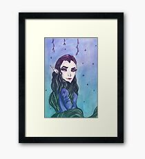 Elf of the night Framed Print