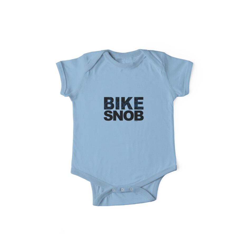 Bike Snob / bicycle snob - blue by Andi Bird