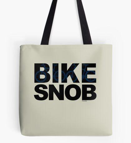 Bike Snob / bicycle snob - blue Tote Bag