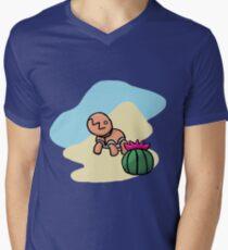 Trapinch Mens V-Neck T-Shirt