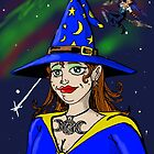 Ginger Haired Witch by ChuckHalloran