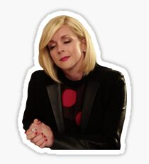 "Jacqueline Voorhees ""Stress Eating""- Unbreakable Kimmy Schmidt Sticker"