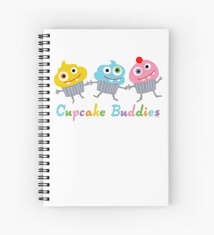 Cupcake Buddies Spiral Notebook