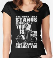 The Work That Stands Before You Women's Fitted Scoop T-Shirt