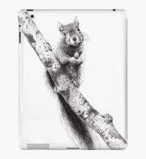 Squirrel : Bimoji ink illustration iPad Case/Skin