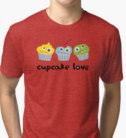Cupcake Love ll Tri-blend T-Shirt