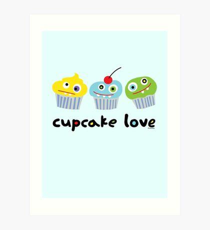 Cupcake Love ll Art Print