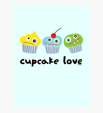 Cupcake Love ll Photographic Print
