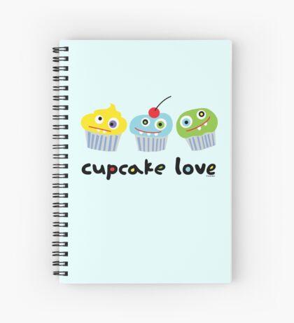 Cupcake Love ll Spiral Notebook