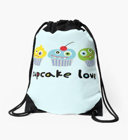 Cupcake Love ll Drawstring Bag