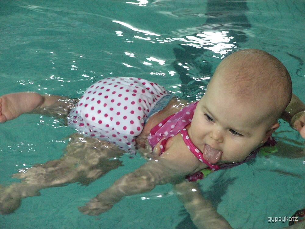 Learing to swim by gypsykatz