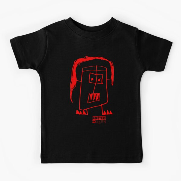 Monsters By Gusten #5 RED Kids T-Shirt