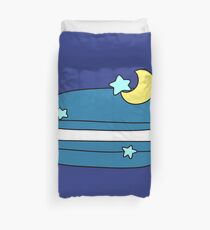 Star and Moon Macaroon Duvet Cover