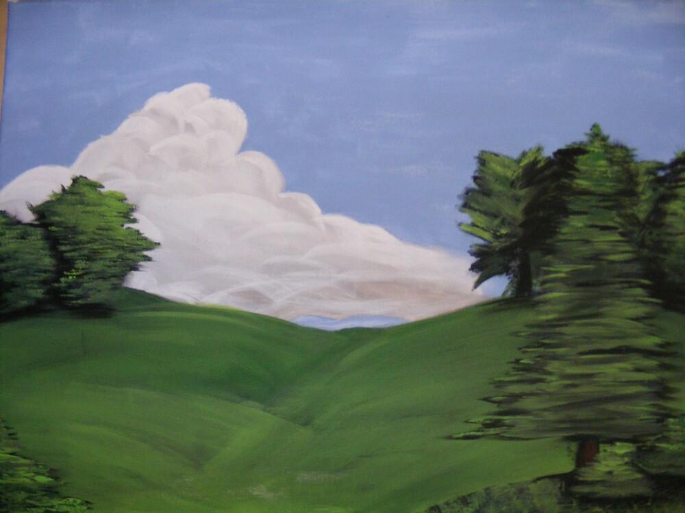 calm prairie by Hayden Brown