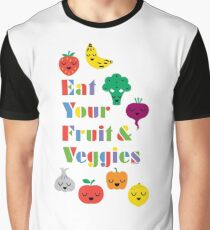 Eat Your Fruit & Veggies lll Graphic T-Shirt