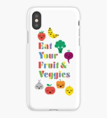 Eat Your Fruit & Veggies lll iPhone Case/Skin