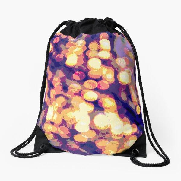 Icy Lights - Vertical Drawstring Bag