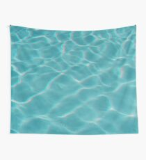 Wavy Water Wall Tapestry