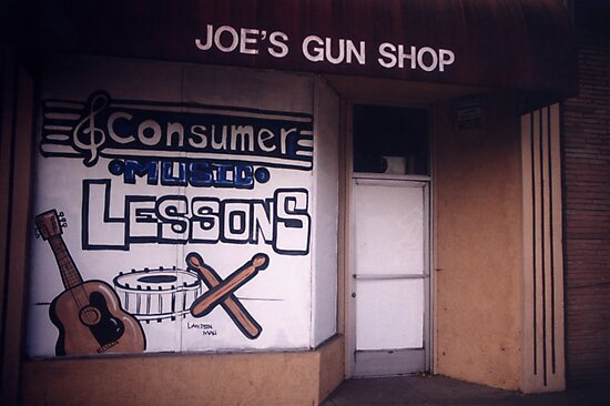 Joe's Gun Shop by John Douglas