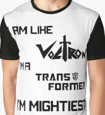 King of the Robots Lyrics Graphic T-Shirt