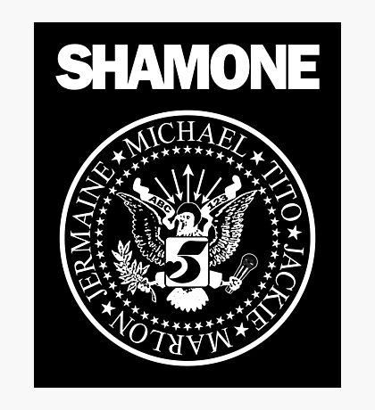 Shamone (Sticker) Photographic Print