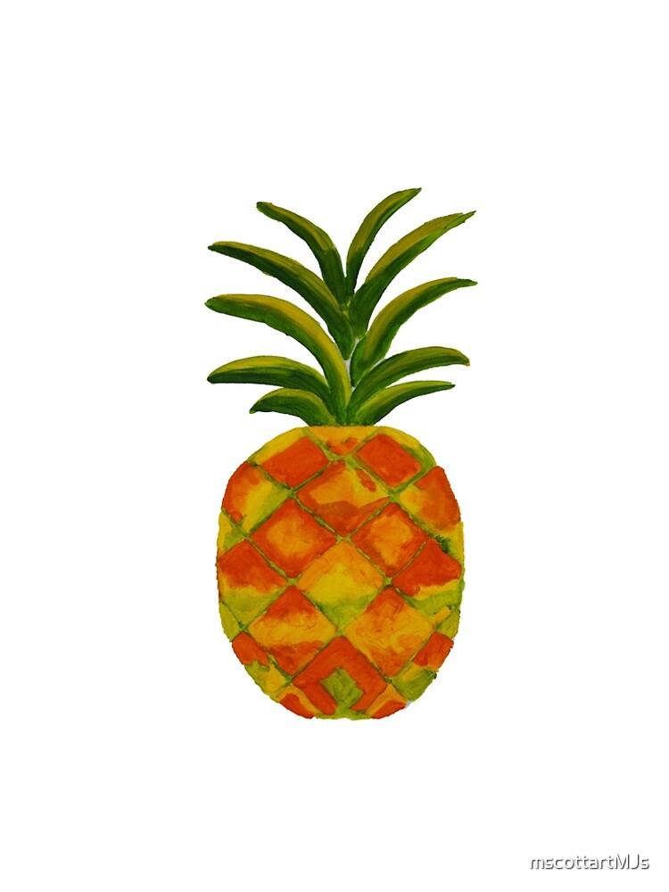 Golden Pineapple by mscottartMJs