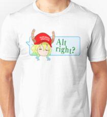 "Lucoa ""alt right?"" speech bubble Unisex T-Shirt"