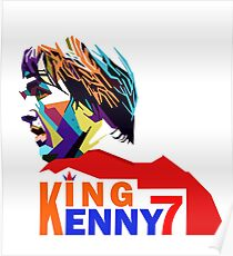 Kenny Dalglish in WPAP Poster