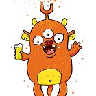 Cream Ale Monster by striffle