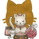 King Kitty by bayleejae