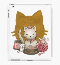 King Kitty iPad Case/Skin