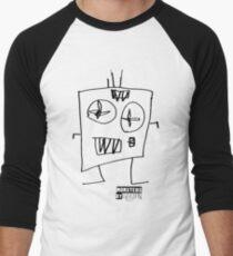 Monsters By Gusten #6 BLACK Men's Baseball ¾ T-Shirt