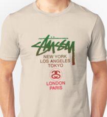 STUSSY WORLD TOUR GREEN  Unisex T-Shirt