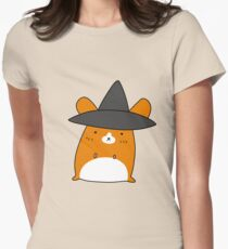 Witch Hamster Womens Fitted T-Shirt