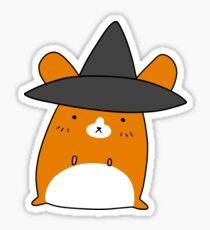 Witch Hamster Sticker
