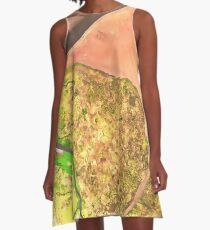 Earthtones A-Line Dress