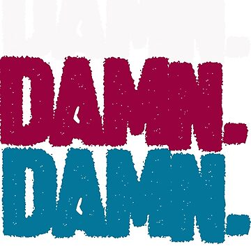 DAMN LOGO by designbook