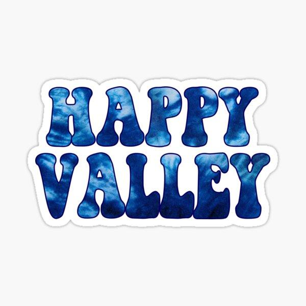 Happy Valley Tie Dye Sticker