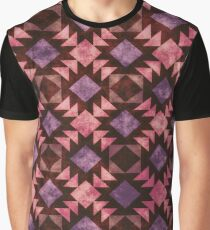Crisscross Pattern Tribal 3 Graphic T-Shirt