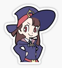Akko Confident Shirt Sticker