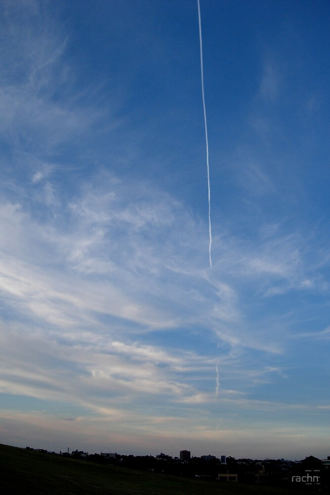 Vapour Trail by rachn