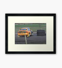 rally Framed Print