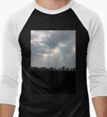 sun clouds Men's Baseball ¾ T-Shirt