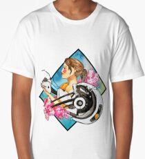 Chell & GLaDOS Long T-Shirt