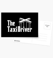 The Taxi Driver Postcards