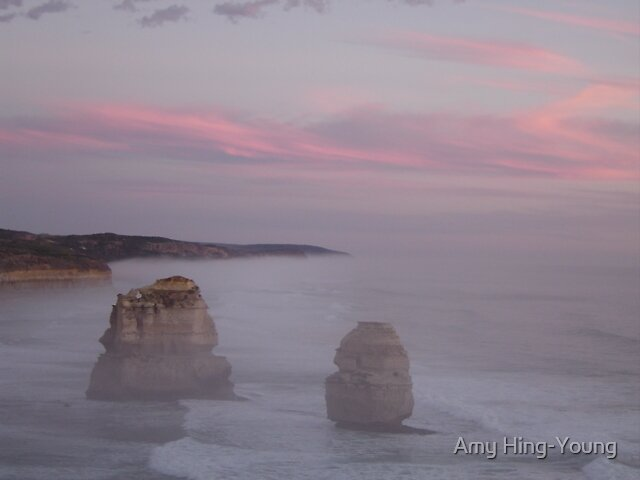 The 12 Apostles - Eastern View by Amy Hing-Young