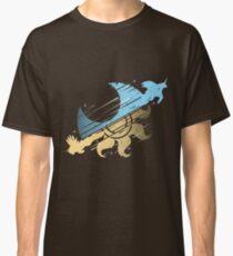 Princess Celestia Vs Nightmare Moon Minialist Classic T-Shirt